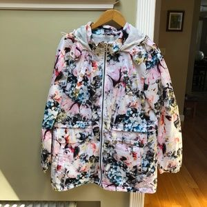 Floral Sam Edelman Raincoat